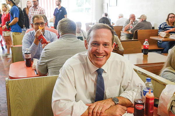 Lunch with Rep. Ted Budd